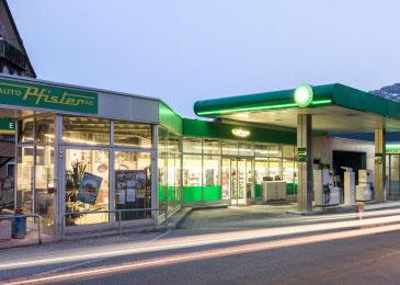 Dienstleistung Tankstellen und Shops