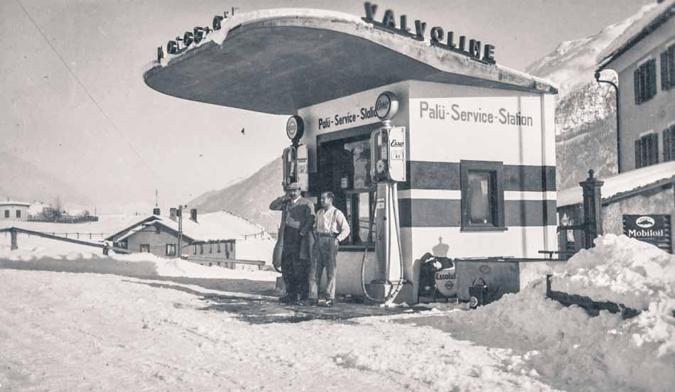 Historische Servicestation BP