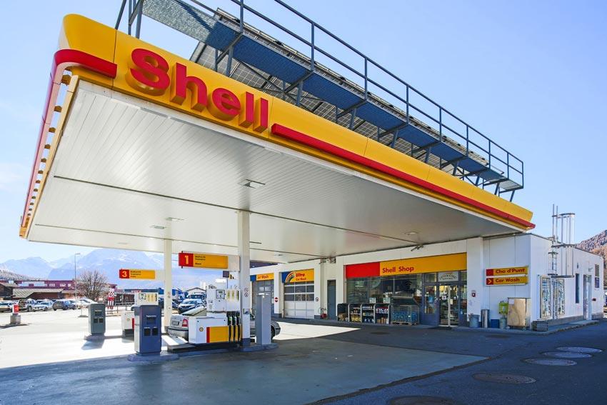 Shell Tankstelle Cho d' Punt