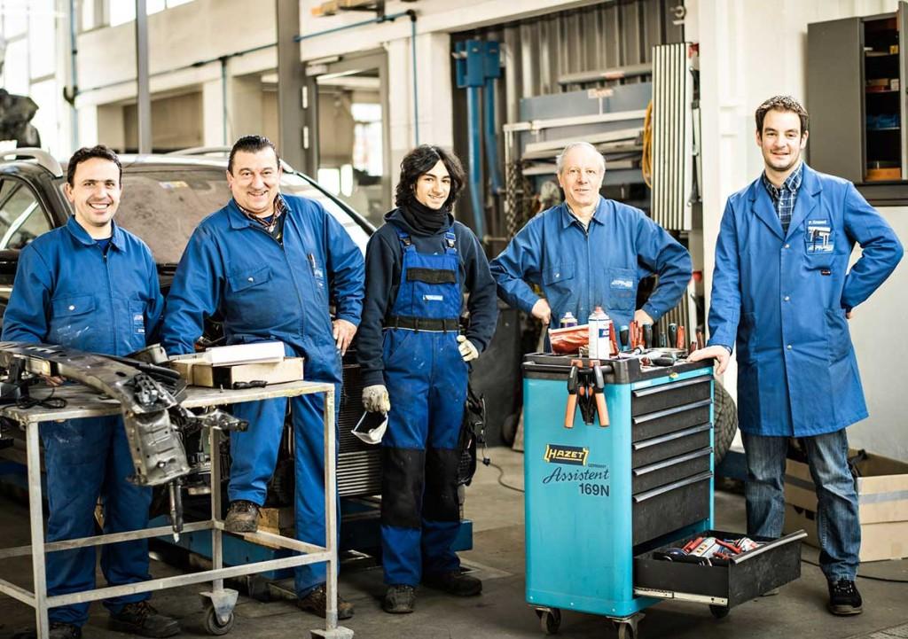 Carrosserie Werkstatt Team