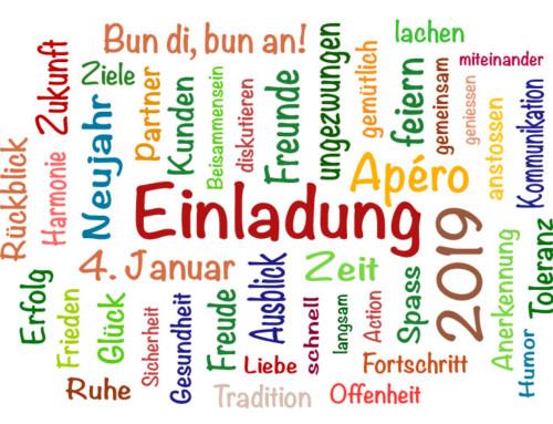 Einladung zum Neujahrsapéro